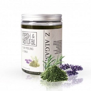 Fresh and Natural Solny peeling do ciała z algami 1300 g