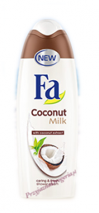 Fa żel pod prysznic Coconut Milk 400 ml