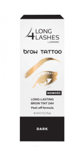 Long 4 Lashes żel do brwi Brow Tattoo Long Lasting Brow Tint 24H Dark 8ml